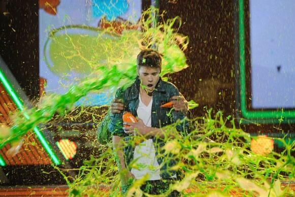 Justin Bieber at the 2012 KCA