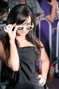 Demi Lovato at the World Premiere of Jonas Brothers: The 3D Concert Experience Premiere