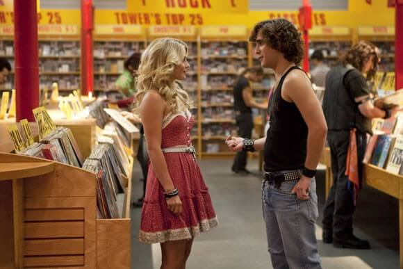 Julianne Hough and Diego Boneta star in New Line Cinema's 'Rock of Ages'