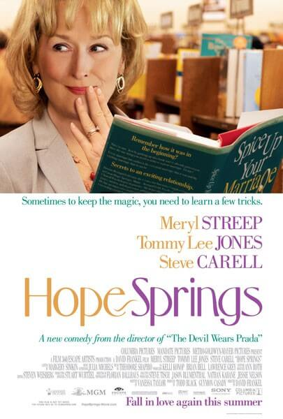 Poster for Hope Springs - Columbia Pictures