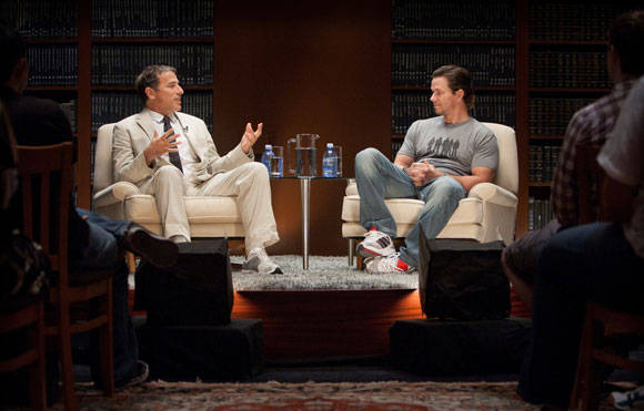 David O Russell and Mark Wahlberg in TCM Presents AFI's Master Class – The Art of Collaboration: David O. Russell and Mark Wahlberg