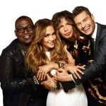 Randy Jackson, Jennifer Lopez, Steven Tyler and Ryan Seacrest from American Idol season 11.