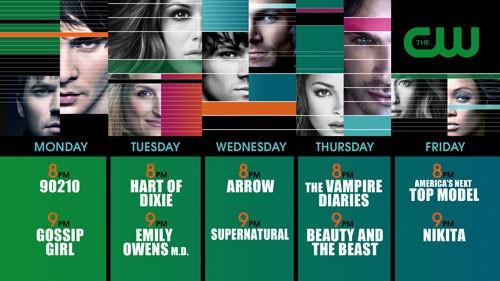 CW 2012-2013 Schedule