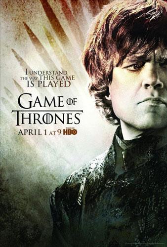 Season 2 Game of Thrones Peter Dinklage Poster