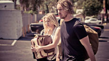 Kristen Bell and Dax Shepard in Hit and Run