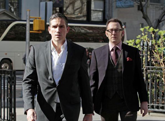 Jim Caviezel and Michael Emerson in 'Person of Interest'