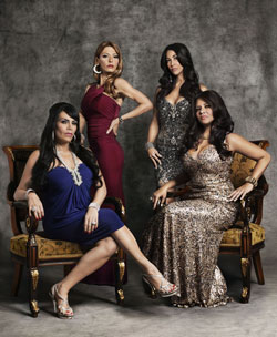 Renee, Drita, Carla and Karen in Mob Wives
