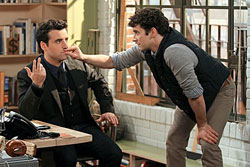 David Krumhotltz and Michael Urie in 'Partners'