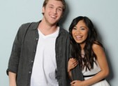 'American Idol' finalists Phillip Phillips and Jessica Sanchez