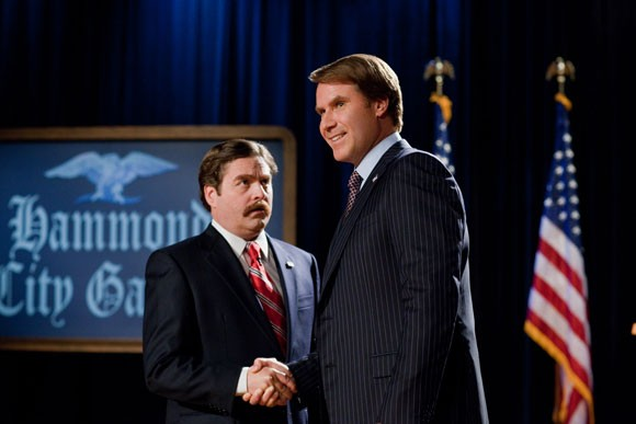 Zach Galifianakis and Will Ferrell in The Campaign