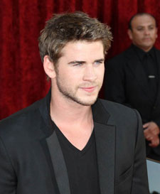 Liam Hemsworth at the Thor Premiere