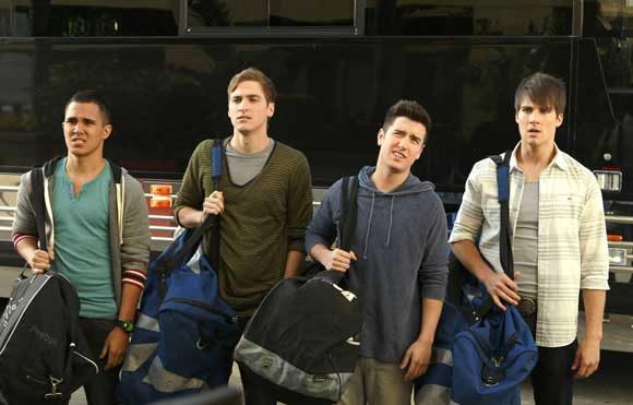 The Cast of Big Time Rush
