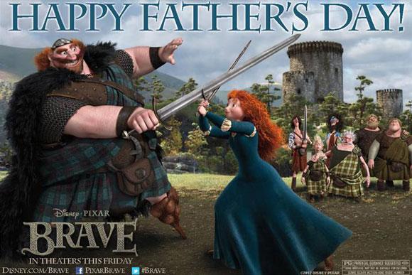 Brave Happy Father's Day Clip