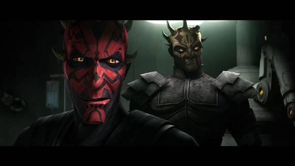 A scene from 'Star Wars: The Clone Wars' - © Lucasfilm Ltd