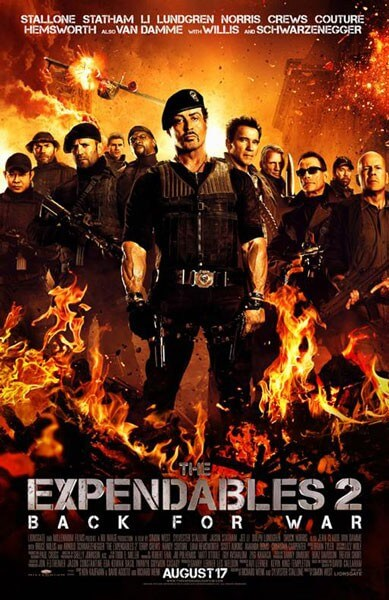 The Expendables 2 Final Poster