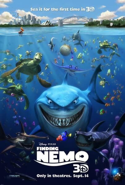 Finding Nemo 3D Poster