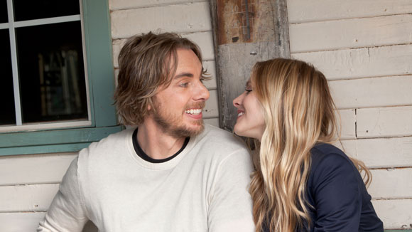 Dax Shepard and Kristen Bell in Hit & Run