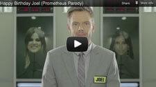 Joel McHale Prometheus Parody