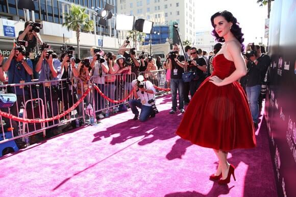 Katy Perry Red Carpet Premiere