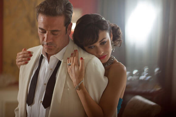 Jeffrey Dean Morgan and Olga Kurylenko star in Magic City.