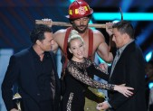 Matthew McConaughey, Elizabeth Banks, Joe Manganiello, and Channing Tatum
