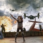 Milla Jovovich stars in Screen Gems' action horror RESIDENT EVIL: RETRIBUTION