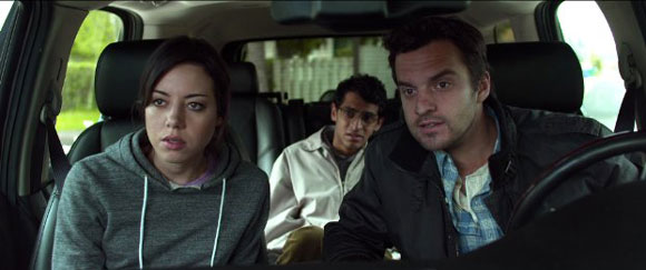 Aubrey Plaza and Jake M Johnson in 'Safety Not Guaranteed'