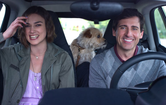 Keira Knightley and Steve Carell in Seeking a Friend for the End of the World.