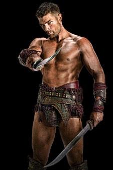 Liam McIntyre as Spartacus in 'Spartacus: Vengeance'