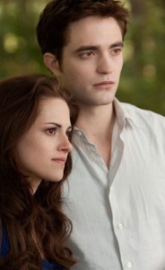 Kristen Stewart and Robert Pattinson in Breaking Dawn Part 2