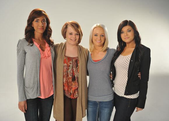 The cast of 'Teen Mom'