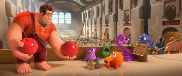 A scene from Wreck It Ralph