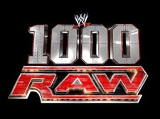 1000th Episode of RAW