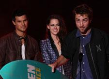 Breaking Dawn Stars at Teen Choice Awards 2012