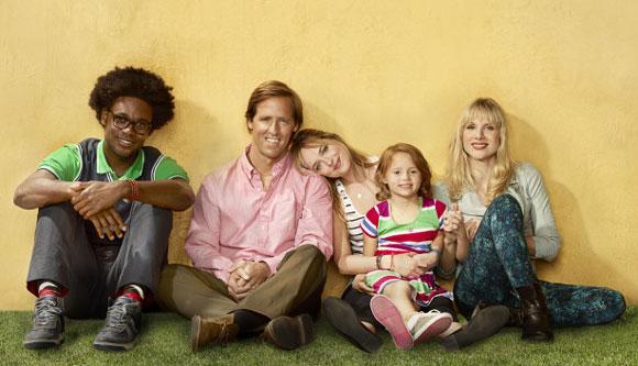 Echo Kellum, Nat Faxon, Dakota Johnson, Maggie Elizabeth Jones and Lucy Punch star in 'Ben and Kate'