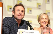 Grant Bowler and Julie Benz from Defiance