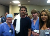 Christian Bale Visits Colorado Shooting Victims