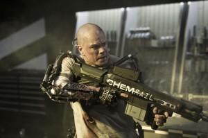 Matt Damon in Elysium First Photo