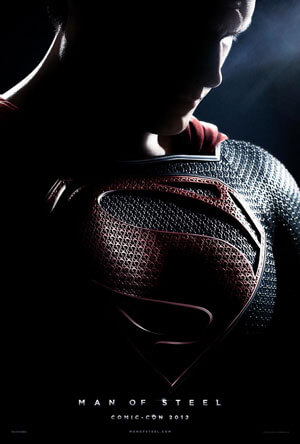 Man of Steel Comic Con Poster