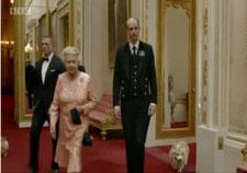 The Queen, Daniel Craig and Corgis
