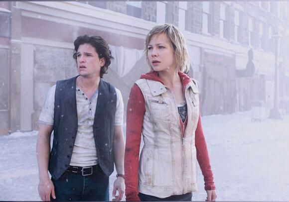 Kit Harington and Adelaide Clemens in Silent Hill: Revelation