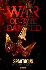 Spartacus War of the Damned Teaser Poster