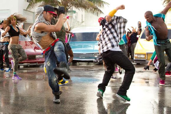 Ryan Guzman and Misha Gabriel in 'Step Up Revolution'