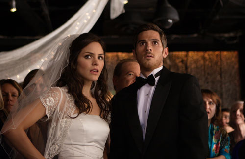 Katherine McPhee and Dave Annable in You May Not Kiss the Bride
