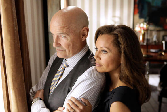 Terry O'Quinn and Vanessa Williams in 666 Park Avenue
