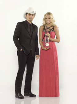 Brad Paisley and Carrie Underwood Host the 2012 CMA Awards