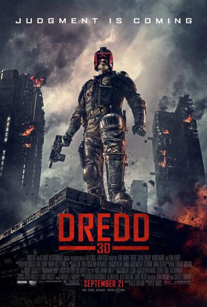 Dredd 3D Posters