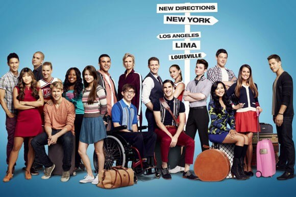 The Cast of Glee Season 4