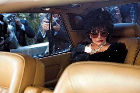 Lindsay Lohan as Elizabeth Taylor ' in Lifetime's 'Liz & Dick'