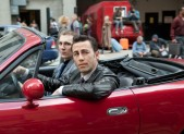 Paul Dano and Joseph Gordon-Levitt in Looper